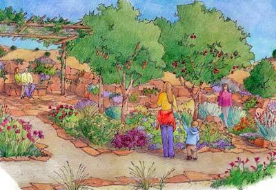 Santa Fe Botanical Garden