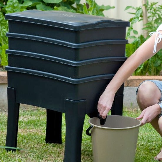 Worm Cafe Composter (3-Tier)