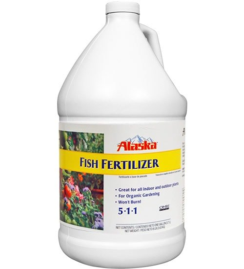 fish fertilizer by alaska organic planet natural