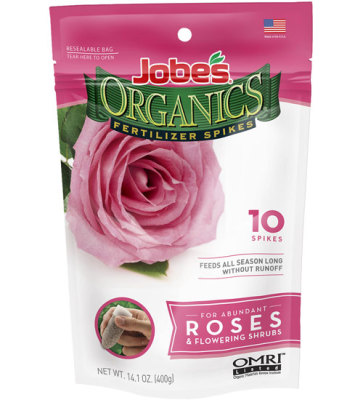 Fertilizer Spikes for Roses
