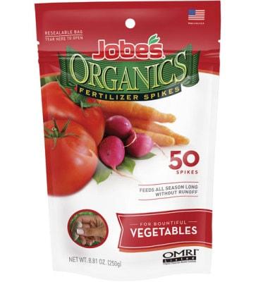 Fertilizer Spikes for Vegetables