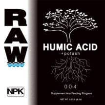 RAW Humic Acid + Potash