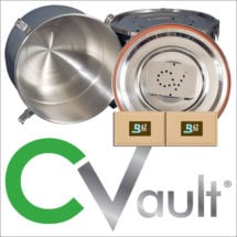 CVault Storage Containers