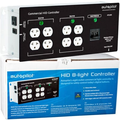 Commercial 8 Light Controller