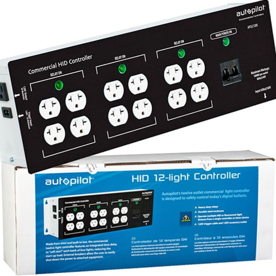 12 Light HID Controller