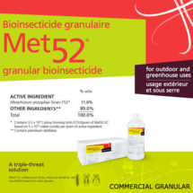 Met 52 Granular Bio-Insecticide