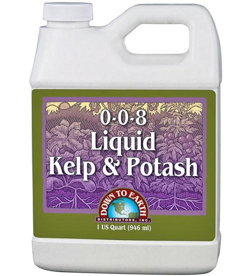 Liquid Kelp & Potash Fertilizer
