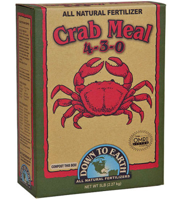 Crab Meal Fertilizer