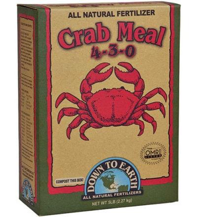 Crab Meal Fertilizer