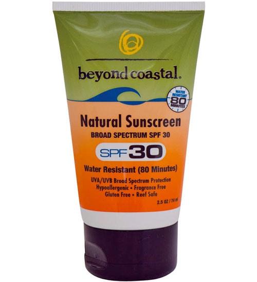 Beyond Coastal Natural Sunscreen