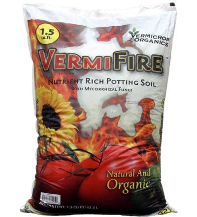 VermiFire Nutrient Rich Potting Soil