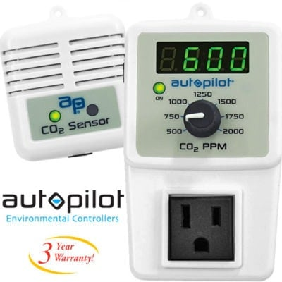 PPM-5 CO2 Monitor & Controller