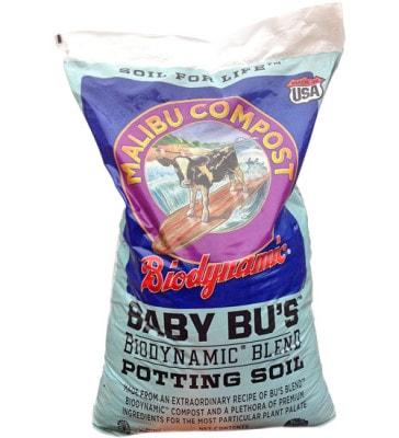 Baby Bu's Biodynamic Potting Soil