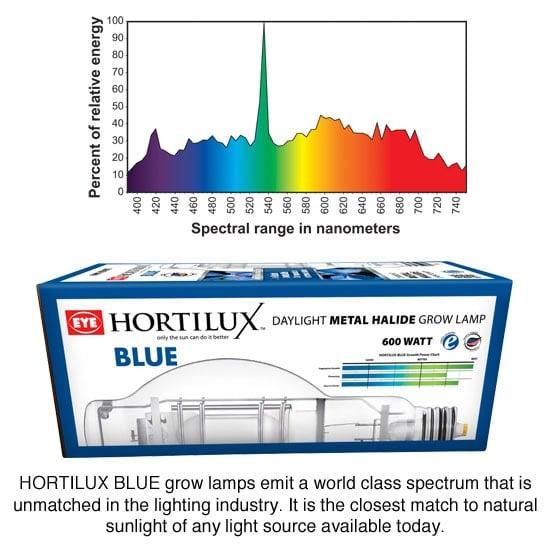 Ceramic Hps Grow Light System By Hortilux Se 600w