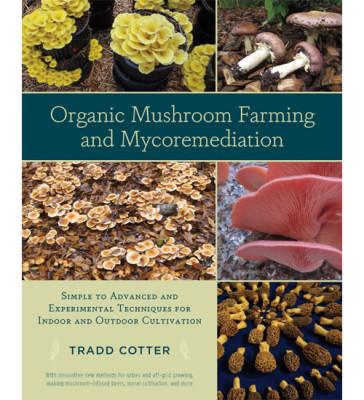 Organic Mushroom Farming Book