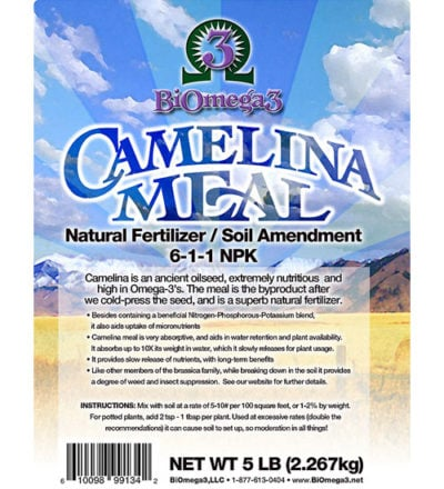Camelina (Wild Flax) Meal
