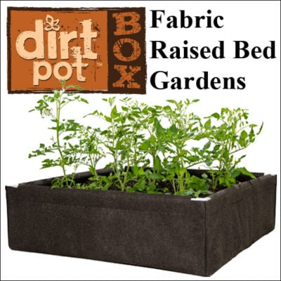 Fabric Raised Bed Garden