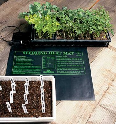 Seedling Heat Mat (4-Flats) 1