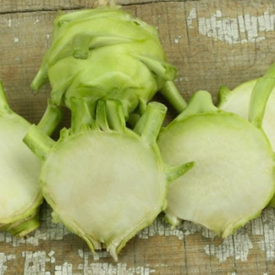 Kohlrabi, Early White Vienna