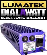 Lumatek Dual 600 Watt Ballast 1
