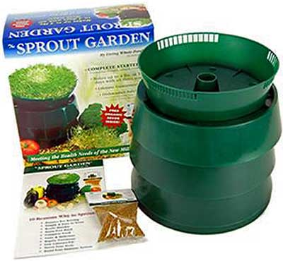Sprout Garden 3Tray Kit Planet Natural