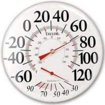 Large Dial Thermometer 1