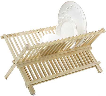 Folding Dish Rack 1  sc 1 st  Planet Natural & Wooden Dish Rack - Folding | Planet Natural